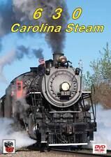 630 Carolina Steam DVD NEW Greg Scholl Southern Railway 2-8-0 Spencer excursion