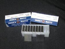 BOX OF 10 INDEX-O-MATIC SPC-632 GRADE 2-91 KT9
