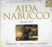 4 CD Box ♫ Compact disc **GIUSEPPE VERDI ~ AIDA ~ NABUCCO** Collection nuovo