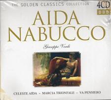 4 CD Box ♫ Compact disc **GIUSEPPE VERDI ~ AIDA ~ NABUCCO** Collection nuovo