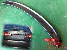 Carbon Fiber 05-12 LEXUS IS250 IS350 Sedan F sport type trunk spoiler @US