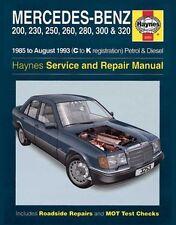 Haynes Owners + Workshop Car Manual Mercedes Petrol + Diesel 1985-1993 H3253