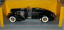 RARE ERTL BLK 1935 AUBURN SPEEDSTER 851 Chicago Toy Show special 1998, 1/10, NEW