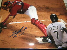 AUTOGRAPHED TIMO PEREZ WS CHAMP CHICAGO WHITE SOX 8X10 PHOTO