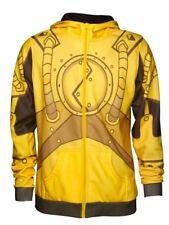 League of Legends Blitzcrank Hoodie Sweater Zip-Up Jacket Worlds 2012 S Unisex