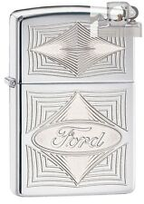 Zippo 28625 ford logo Lighter with PIPE INSERT PL