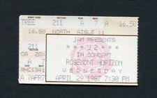 1987 U2 Lone Justice concert ticket stub Rosemont Il Joshua Tree Tour Bono Rare