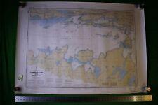 Canada Lake Huron Clapperton & Meldrum 46.5x33 Vintage 1989 Nautical Chart/Map