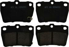 Disc Brake Pad Set-PSC Ceramic Disc Brake Pad Rear fits 04-05 Toyota RAV4