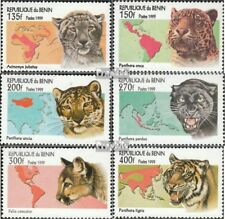 Benin 1040-1048 Sheetlet Mint Never Hinged Mnh 1998 Prehistoric Animals Topical Stamps
