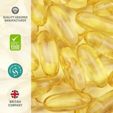Tablet Bargains -- Omega-3 Fish Oil 1000mg - 360 Capsules