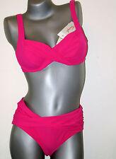 Triumph Bikini Set  -  42 B  -  Sunset Leaf W NEU pink ( GB 38 / FR 44 / IT 48 )