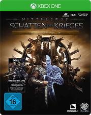 Mittelerde: Schatten des Krieges - Gold Edition (Microsoft Xbox One, 2017)
