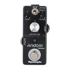 Andoer TC-13 Distortion Guitar Effect Pedal True Bypass Myomorpha Compact Y5N4