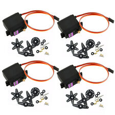 4 X MG996R Digital Metal Gear MG995 Torque Servo para Futaba JR RC Truck Racing