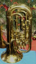 Restored Besson 4 Valve (3 + 1) Bb Euphonium in nice condition.  Euro Shank.