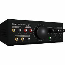 Behringer Monitor2Usb Speaker & Headphone Monitor Vca Audio Usb Interface Bstock