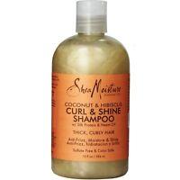 Shea Moisture Curl - Shine Shampoo, Coconut - Hibiscus 13 oz