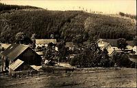 Kratzhammer Fürstenwalde Osterzgebirge DDR s/w AK 1961 Teilansicht Wald Wiesen