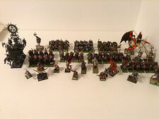 Warhammer Age of Sigmar AoS Warriors of chaos slave of darkness painted army OOP