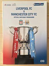 Liverpool Teams L-N Football League Cup Fixture Programmes