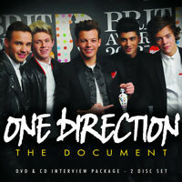 One Direction : The Document CD Album with DVD (2013) ***NEW*** Amazing Value