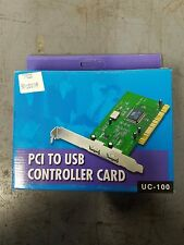 USB 3200 2 Port PCI to USB Controller card