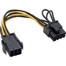 Netzkabel und Steckverbinder mit 6-pol. PCI Express Anschluss