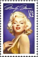 #2967 Marilyn Monroe Mint NH Hollywood Entertainer Single Stamp