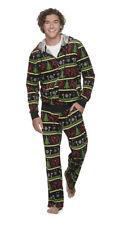 Christmas velour sweatsuit men Sz XL reindeer martini beer ugly Sweater NWT $70