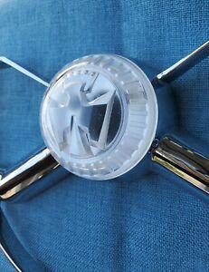 1950 CHEVROLET BUTTERFLY STEERING WHEEL CENTER CAP......NICE!!!