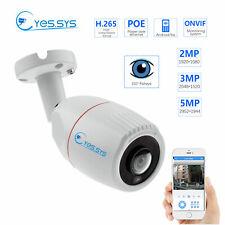 Eyes.sys POE DC48V 1.8mm Fisheye VR 3MP/5MP CCTV Camera Panoramic RTSP ONVIF NVR