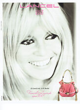 Publicité Advertising 018  2011  le sac B.B  par Lancel Brigitte Bardot