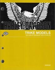 2018 Harley Trike FLHTCUTG Tri Glide Ultra Parts Manual Catalog Book 94000449