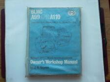 Austin A99 A110 Mk I II Wolseley 6/99 6/110 VDP 3Ltr manual de Haynes Nuevo Viejo Stock