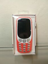New! Nokia Red 3310 3G TA-1036 US WARMRED Cell Phone- up to 32GB 08/2018