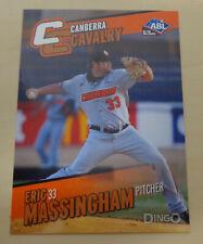 2014 ERIC MASSINGHAM Aussie Baseball - Canberra Cavalry- Fargo-Moorhead Redhawks