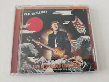 PAUL McCARTNEY RYOGOKU KOKUGIKAN JAPAN SOUND CHECK 2018 collectors CD BEATLES