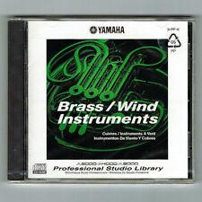 Yamaha / BRASS WIND INSTRUMENTS / Studio Library / A5000/A4000/A3000 / NEU + OVP