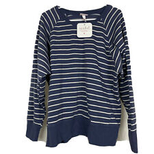 Isabel Maternity Sweater New - Ingrid & Isabel - Blue Striped Size XXL Target