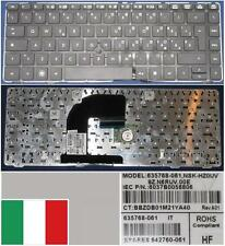 Teclado Qwerty Italiano HP EliteBook 8460P NSK-HZ0UV 9Z.N6RUV.00E 635768-061