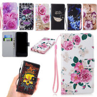 Flip Stand PULeather Case Card Holder Shockproof Cover For Apple iPhone X 8 7 6S