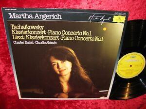 1971 GERMAN NM+ DG 3543 503 STEREO TCHAIKOVSKY / LISZT PIANO CONCERTO 1 MARTHA A