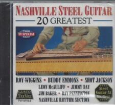 NASHVILLE STEEL GUITAR BUDDY EMMONS/JIMMY DAY/ROY WIGGINS/LEON McAULIFF NEW CD