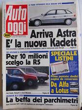 Auto OGGI n°225 1991 Test Alfa Romeo 33S 16V Permanent 4  [Q201]
