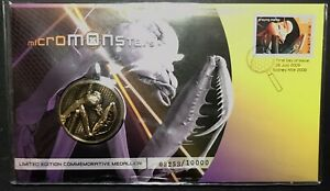 PNC Australia 2009 Micro Monsters Medallion Limited Edition. Free Postage