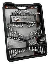 Wrench Set SAE Metric Combination Stubby Mirror Polished craftsman work Tools