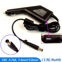 Laptop DC Adapter Car Charger USB Power for HP Pavilion DV7-1051 DV7-1052