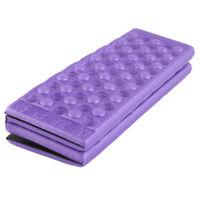 Portable Folding Mat Non-slip EVA Foam Outdoor Garden Cushion Seat Pad Purple