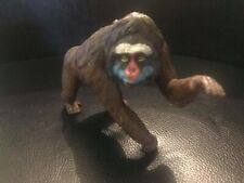 Retired AAA Mandrill Ape animal PVC Figurine Figure Model RARE B